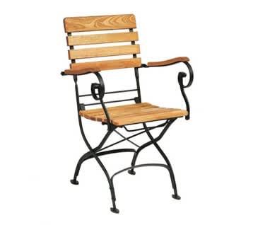 Firenza Folding Café Armchair