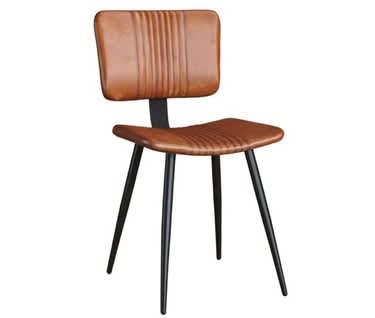 Rapallo Vintage Tan Leather Chair