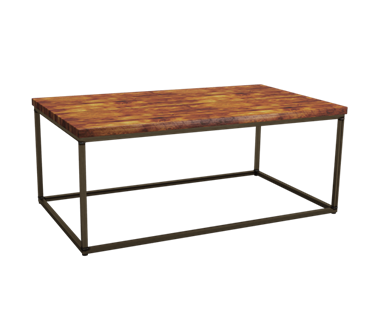 Dalmine Rustic Pine Rectangular Coffee Table | L1200mm x W700mm