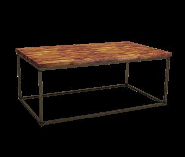 Dalmine Rustic Pine Rectangular Coffee Table | L1200mm x W700mm