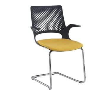 Solus Designer Cantilever Meeting Chair