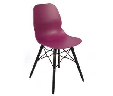 Momo Contemporary Chair | Steel 4 Leg