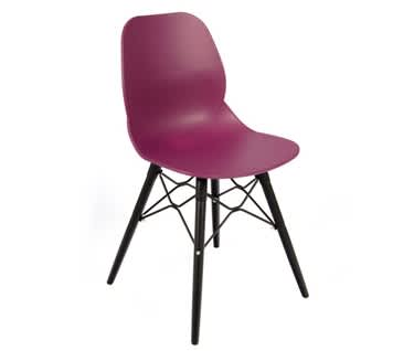 Momo Contemporary Chair | Steel 4 Leg