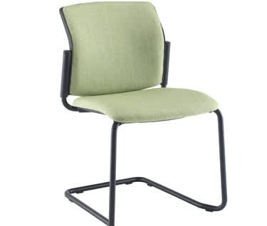 Santana Fully Upholstered Cantilever Chair