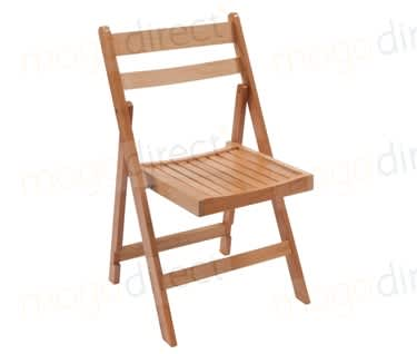 Skara Wooden Folding Chair