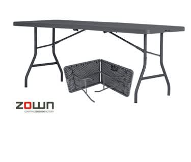 ZOWN New Classic Centre-Folding Table  | L1830 x W760mm (6' x 2'6')