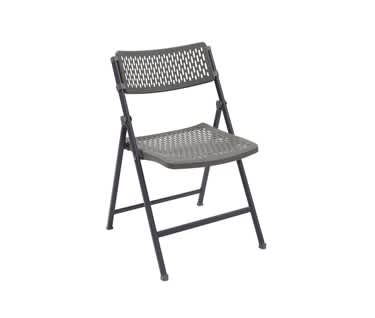 Aran Easy-Fold Plastic Folding Chair
