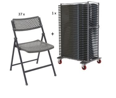 Aran Folding Chair and Trolley Bundle