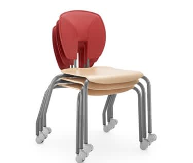 SE Motion Stacking Chair by Hille