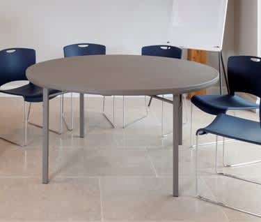 Round Folding Banqueting & Meeting Table | Dia. 1220mm | 4ft