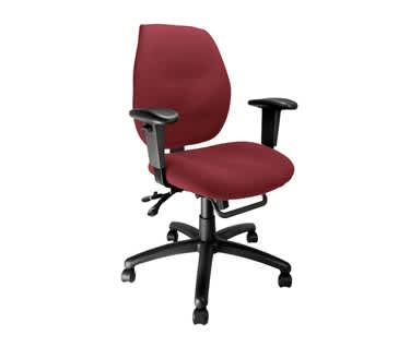 Severn Ergonomic Medium Back Task OfficeChair with Adjustable Arms