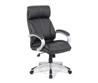 Cloud Leather Faced Executive Office Chair