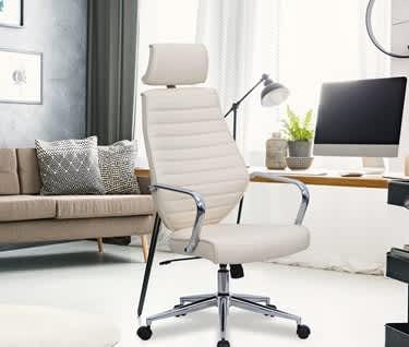 Atlas PU & Chrome Executive Chair