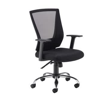 Miller Black Mesh Back Operator Chair