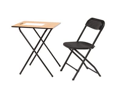 BigClassic Independent Study Bundle | Folding Table & Chair