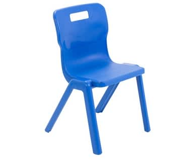 Titan One Piece Antibacterial Polypropylene Chair