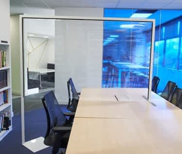 Protect Desk Dividing Clear Screen