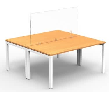 Freestanding Acrylic Desk Screen