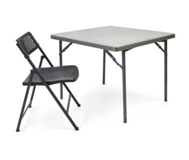 Square Folding Table  | 3ft x 3ft (910 x 910mm)  | New Zown Classic XXL90