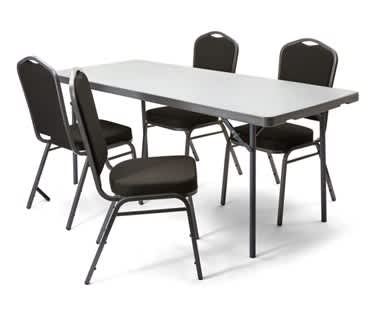 Rectangular Poly Folding Table  | 6ft x 3ft (1830 x 910mm) | New Zown Classic XXL180