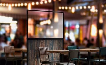 Screens for the Hospitality, Leisure and Retail Industry