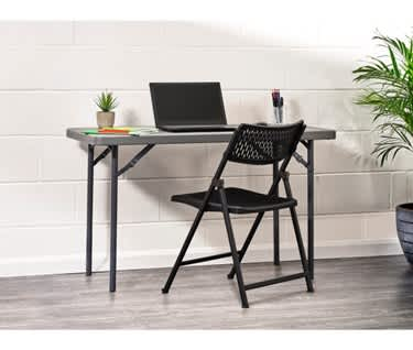 Aran Work from Home Bundle | Folding Table & Chair