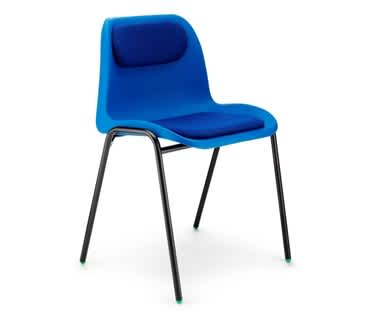 Affinity Padded Stacking Chair by Hille