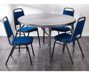 Round Folding Table | 4ft (1220mm) | New Zown Classic Planet 120