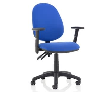 Eclipse Plus 2 Lever Operator Chair with Adjustable Arms