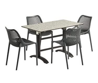 Marbella Outdoor Dining Set | Rectangular Table