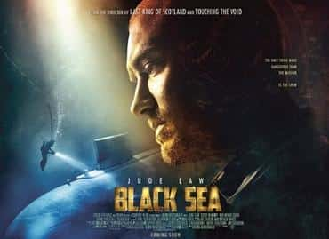 This is a poster for Black Sea (film). The poster art copyright is believed to belong to the distributor of the film, the publisher of the film or the graphic artist.