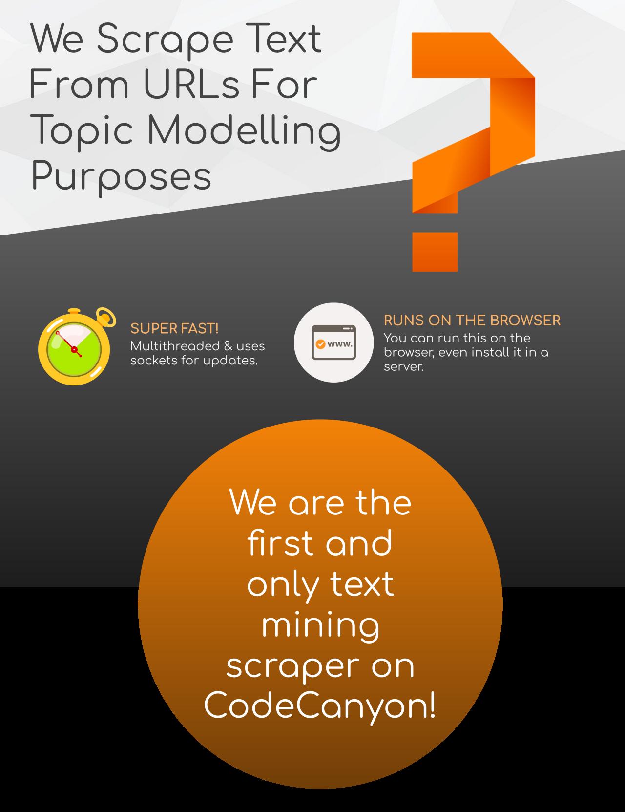 Text Mining Scraper