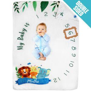 Pamperous Baby Milestone Blanket