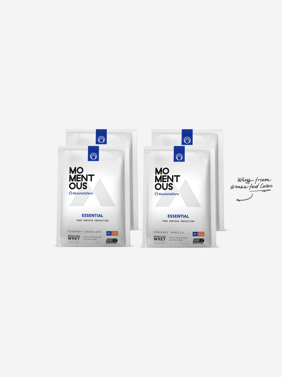 Essential Grass-Fed Whey Protein Sample Set