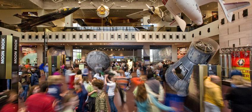 Kid Friendly Restaurants Near Air And Space Museum
