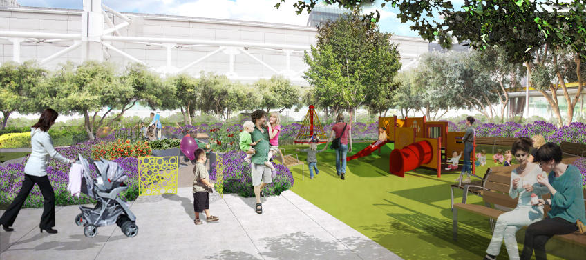 Yerba Buena Gardens To Add Toddler Playground And Learning Garden Mommy Nearest