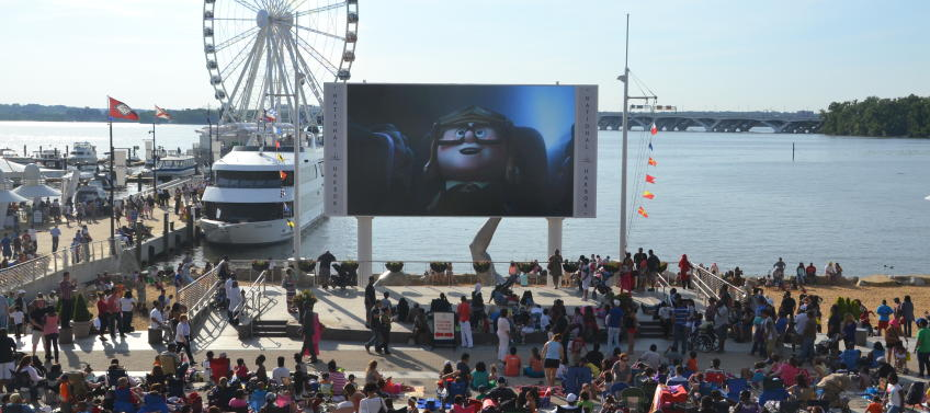 Movies at national harbor