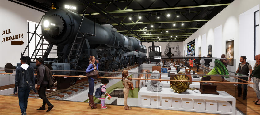 The Franklin Institute's Train Exhibit is Getting a Major