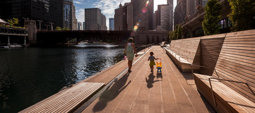 10 Best Things to Do Along the Chicago Riverwalk - Mommy Nearest Chicago Riverwalk Map on