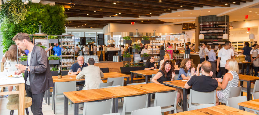 Eataly Opens Its Second Nyc Location Downtown In One World