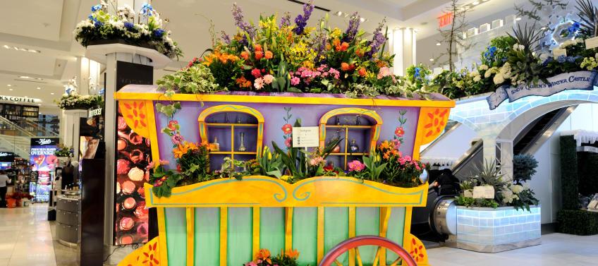 Macys Flower Show 2020.Macy S Flower Show Returns To Nyc With Peppa Pig Mommy Nearest