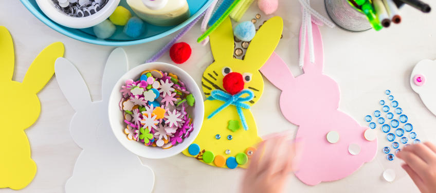 5 Easy And Cute Easter Crafts To Make At Home Mommy Nearest