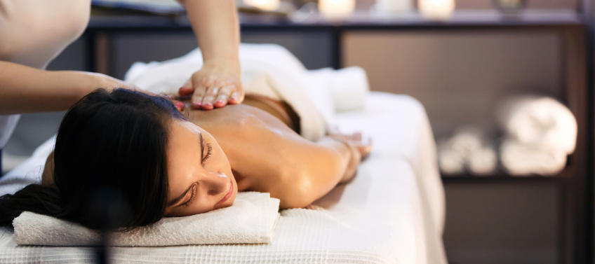 Royalty Free Son Massage Mom Pictures, Images and Stock
