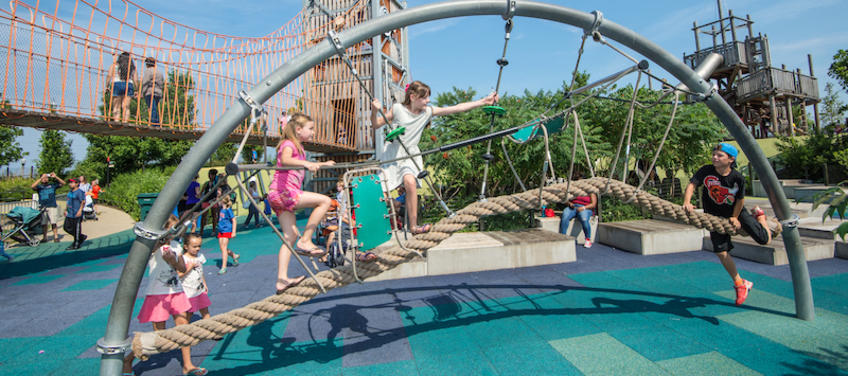 15 Coolest Playgrounds For Kids In Chicago Mommy Nearest