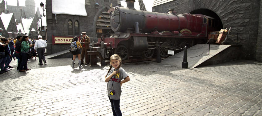 Universal Auto Plaza >> lead image for A Muggle's Guide to the Wizarding World of Harry Potter LA