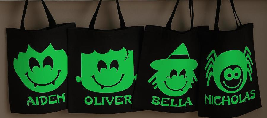 lead image for 5 cute halloween trick or treat bags for kids