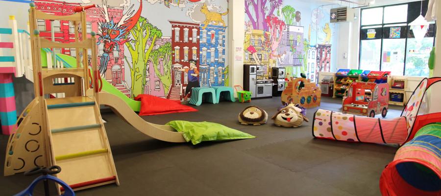 City Treehouse NYC Indoor Playground 🌴 - YouTube