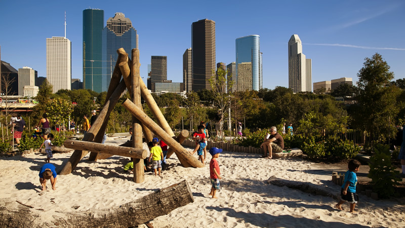 Buffalo Bayou Park Playground