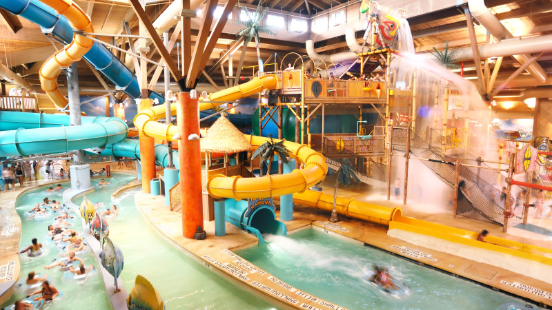 Indoor Swimming Pool With Slides 6 indoor water parks near washington, d.c. for families - mommy