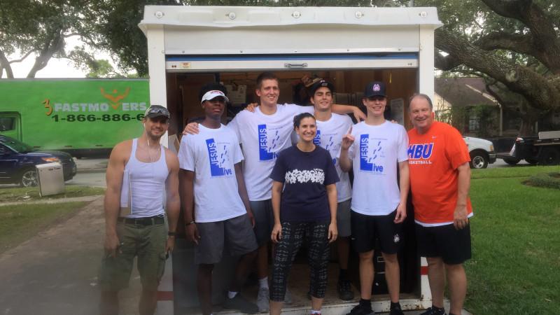 Hurricane Harvey helpers